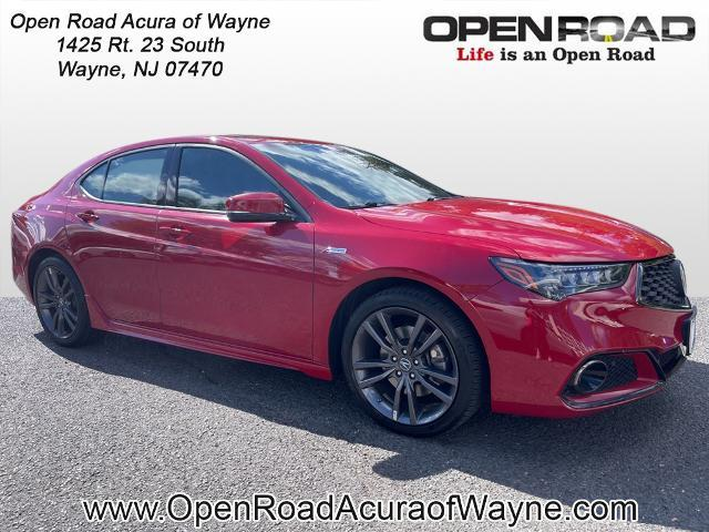 2019 Acura TLX V6 with A-SPEC Package