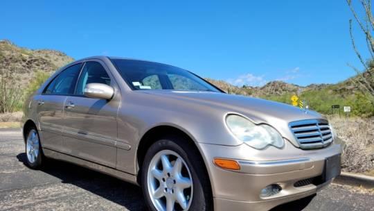 2002 Mercedes-Benz C240 Sedan