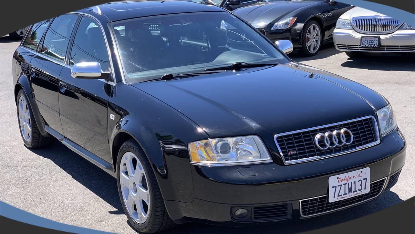 2002 Audi S6 Avant 4.2 quattro