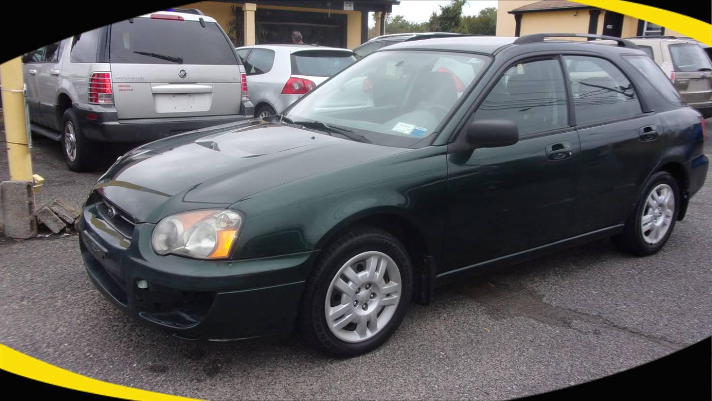 2004 Subaru Impreza 2.5 TS Sport Wagon