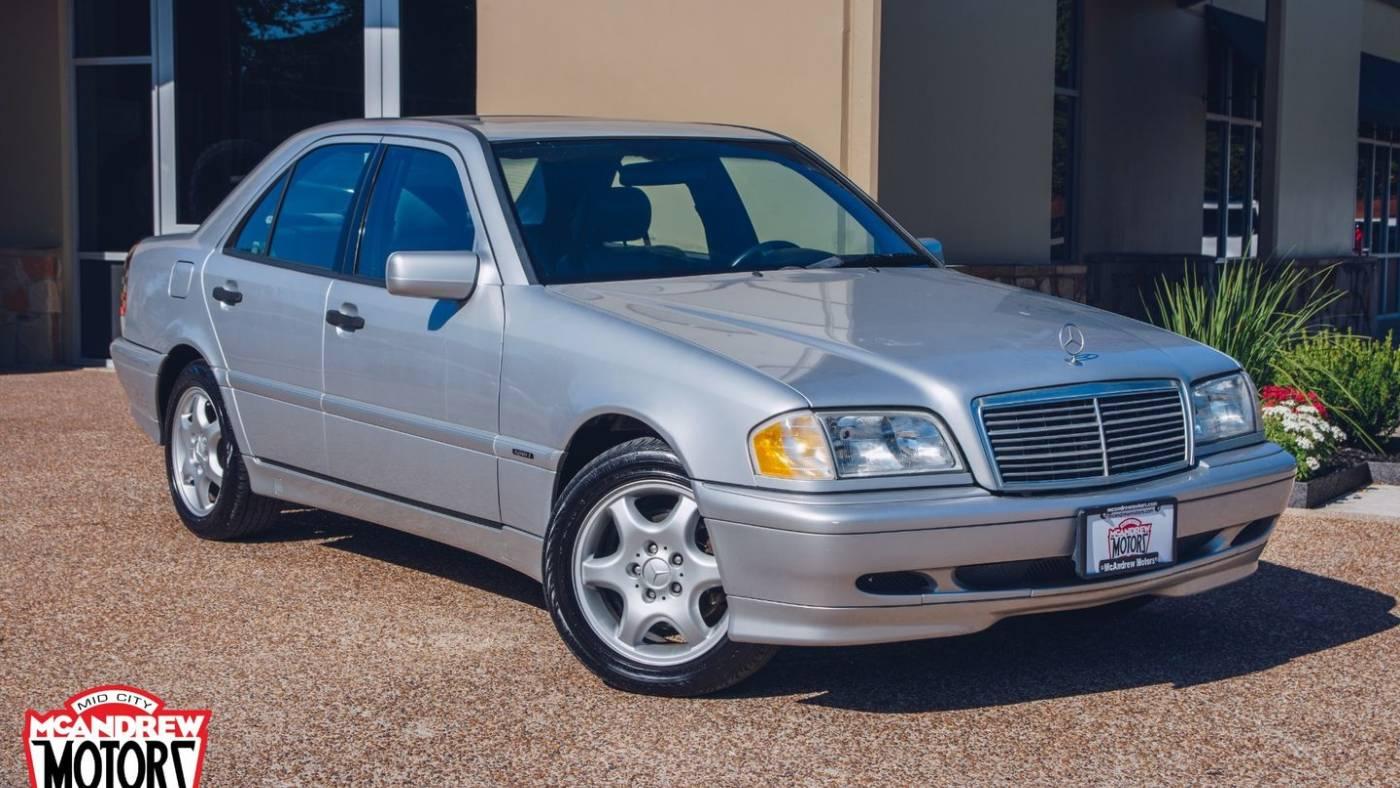 2000 Mercedes-Benz C230 Kompressor Sedan