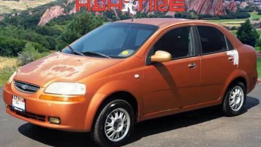 2005 Chevrolet Aveo LS Sedan